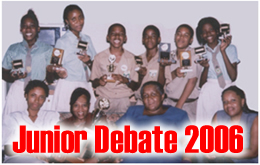 Junior Debate 2006